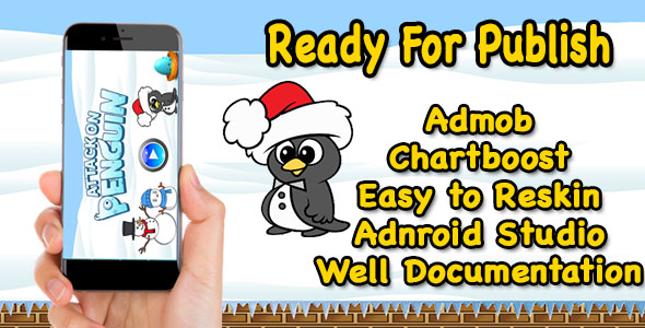 Attack on Penguin - Game For Kids - Ready For Publish - Android - CodeCanyon Item for Sale