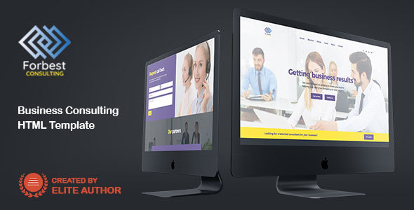 Forbest - One Page Parallax Template - Business Corporate