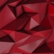 Red Abstract Low Poly Triangle Background - VideoHive Item for Sale