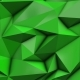 Green Abstract Low Poly Triangle Background - VideoHive Item for Sale