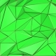 Green and Gold Abstract Low Poly Triangle Background - VideoHive Item for Sale