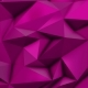 Pink Abstract Low Poly Triangle Background - VideoHive Item for Sale