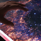 Illustration Of The Deep Space Galaxies On Touch Screen Computer - VideoHive Item for Sale