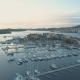 Aerial View of Yacht Club and Marina in Croatia, Sibenik - VideoHive Item for Sale
