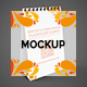 Desktop Calendar A6 Mockup - GraphicRiver Item for Sale