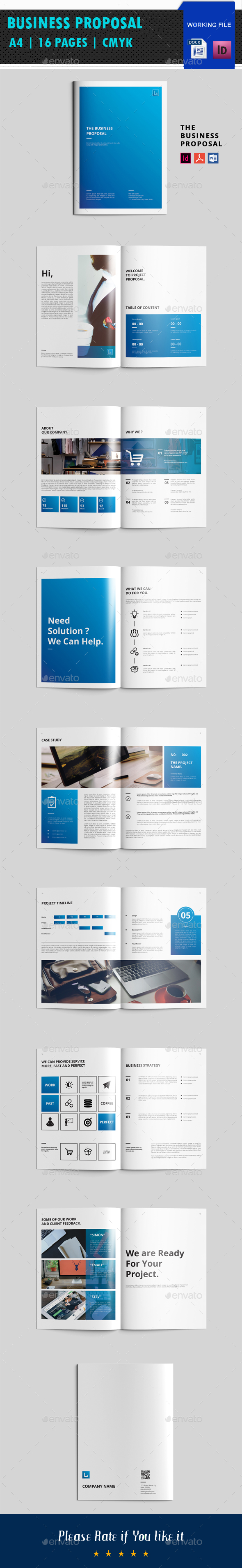 Business Proposal V05 - Corporate Brochures