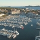 Aerial View of Yacht Club and Marina in Croatia Biograd Na Moru - VideoHive Item for Sale