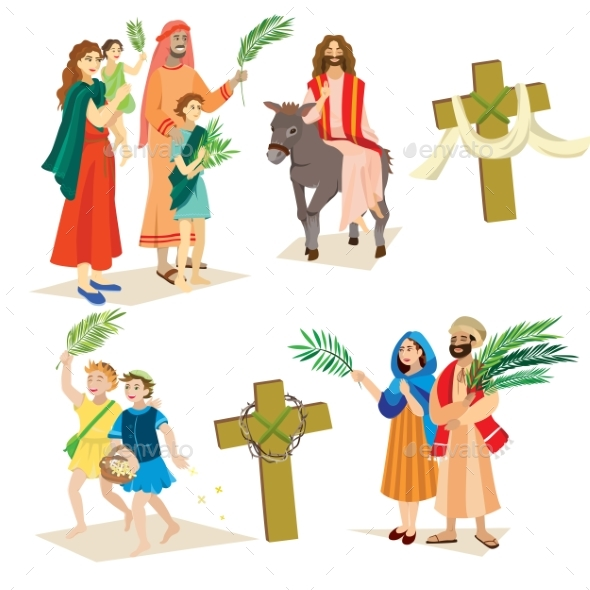 Religion Holiday Palm Sunday Before Easter - Religion Conceptual