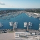 Aerial View of Beautiful Modern Marine of Sukosan Densely Packed with Sailing Boats and Yachts - VideoHive Item for Sale
