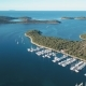 Aerial View of Yacht Club and Marina in Croatia, Frapa - VideoHive Item for Sale