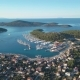 Aerial View of Yacht Club and Marina in Croatia Frapa - VideoHive Item for Sale