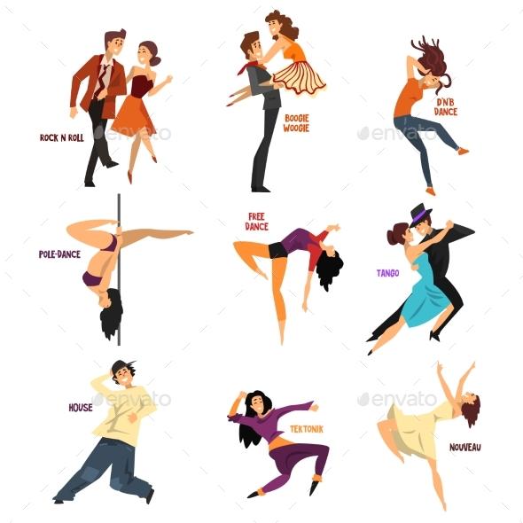 Professional Dancer People - Sports/Activity Conceptual