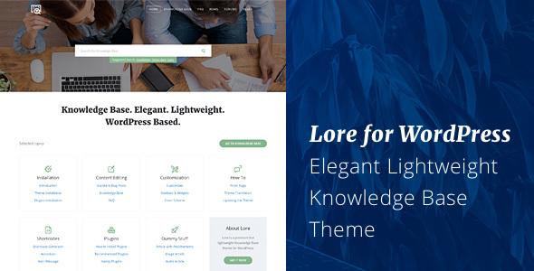17+ Best Knowledge Base WordPress Themes 2019 6