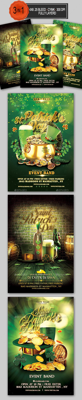 St Patrick's Day Flyer Bundle - Holidays Events