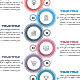 Modern Vertical Circle Infographics - GraphicRiver Item for Sale