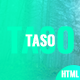 Taso - App Landing HTML5 Template - ThemeForest Item for Sale
