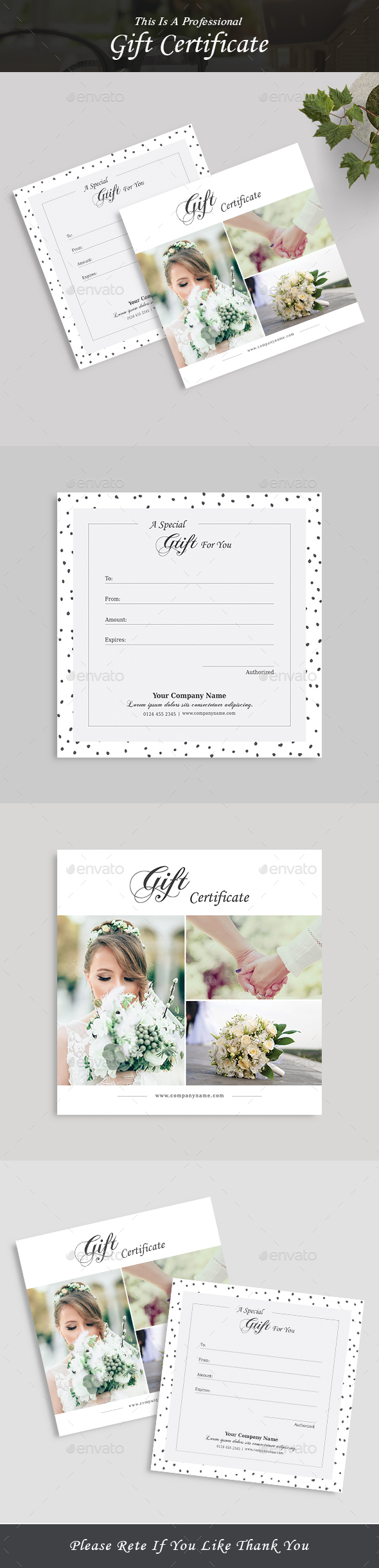 Gift Certificate - Loyalty Cards Cards & Invites