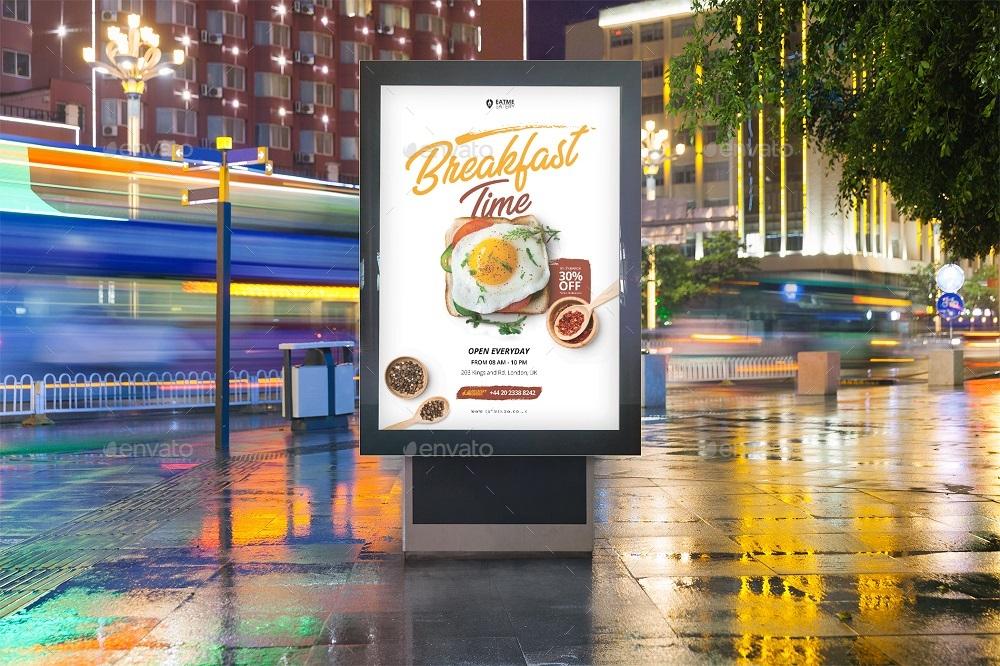 Food Flyer & Social Media Banner