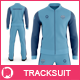 Men's Tracksuit Baseball Collar Mockup - GraphicRiver Item for Sale