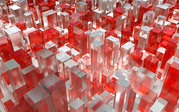 Glass Cube - 3D Backgrounds