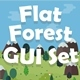 Flat Forest Game User Interface Set - GraphicRiver Item for Sale