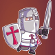 Crusader Game Sprite - GraphicRiver Item for Sale