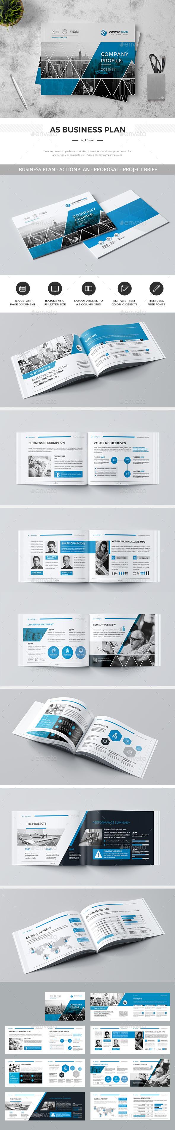 A5 Landscape Company Profile - Corporate Brochures