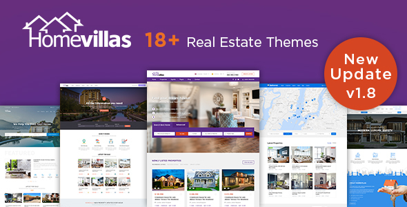 Home Villas | Real Estate WordPress Theme - Real Estate WordPress