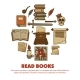 Read Books Agitative Poster with Ancient Written - GraphicRiver Item for Sale
