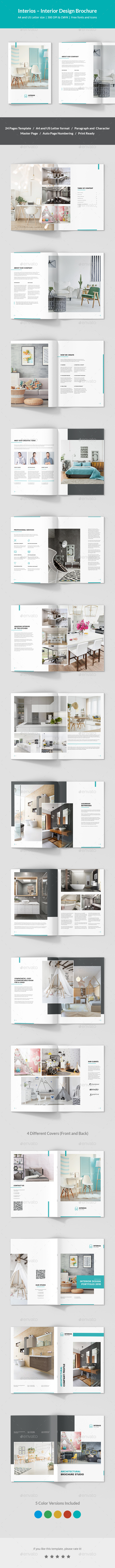 Interios – Interior Design Brochure - Corporate Brochures