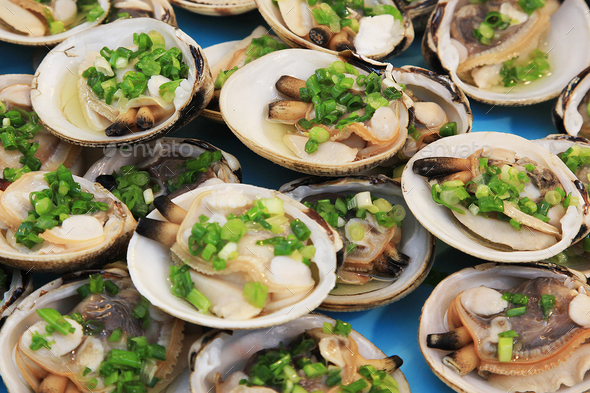 Shellfish for food - Stock Photo - Images