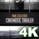 Cinematic Trailer in 4K - VideoHive Item for Sale
