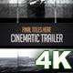Cinematic Trailer in 4K - VideoHive Item for Sale