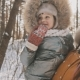 Mother and Daughter Having Fun in Cold Sunny Weather in Winter Park Outdoors - VideoHive Item for Sale