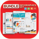 Bundle Infographics elements design