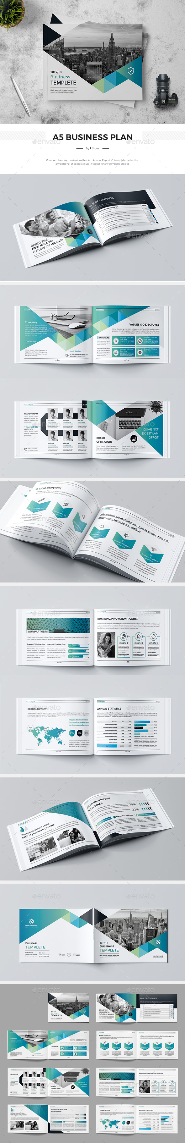A5 Company Profile - Corporate Brochures