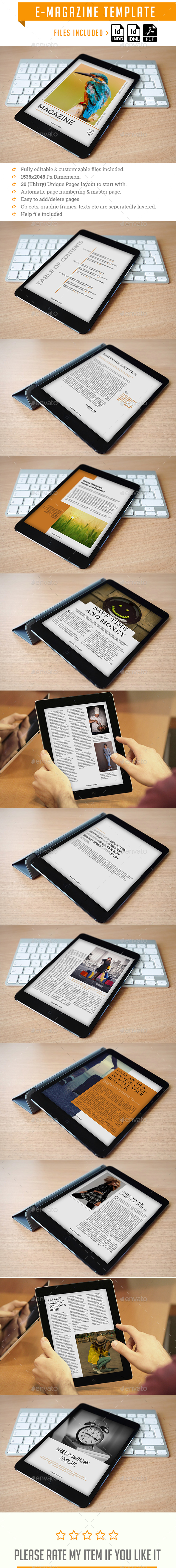 Multipurpose E-Magazine - Digital Magazines ePublishing