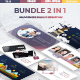 Bundle Premium 2 in 1 - Business Google Slide Template