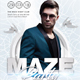 Maze Party Flyer - GraphicRiver Item for Sale