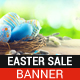 Easter Sale Banner - GraphicRiver Item for Sale