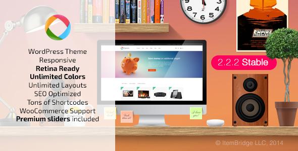 Progressive Multipurpose WordPress Theme