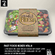 Fast Food Boxes Vol.4: Take Out Packaging Mock Ups - GraphicRiver Item for Sale