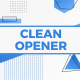 Clean Abstract Opener - VideoHive Item for Sale