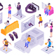 Virtual Reality Isometric Set - GraphicRiver Item for Sale