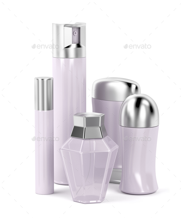 Set of female cosmetic products - Stock Photo - Images