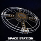 Space station torus sci-fi - 3DOcean Item for Sale