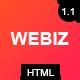 Webiz - Creative Digital Agency & Multipurpose Template - ThemeForest Item for Sale