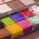Palette with Colorful Paints for Art Make-up - VideoHive Item for Sale