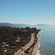 Flying Over the Beach of Santa Barbara - VideoHive Item for Sale