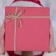 Santa Woman Costume Holds a Gift in Her Hand and Waves Her Hand - VideoHive Item for Sale